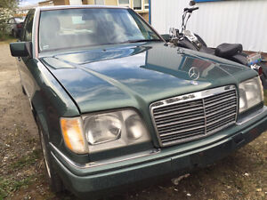 1995 Mercedes benz e320 TRADE FOR  4X4  truck or large suv