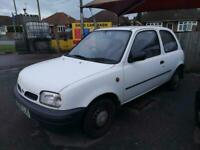 70k MILE MICRA - PART EX TO CLEAR - DRIVES SUPERB - SPARES OR REPAIRS