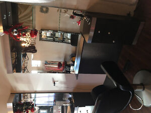 Beautiful hair station with chair Windsor Region Ontario image 1