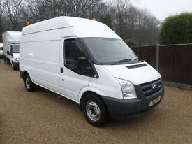 2011 Ford Transit 2.4TDCi 115PS 350L High Roof Van 350 LWB Workshop, Utility Van