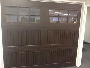 Brand new garage doors