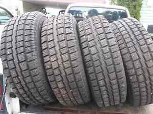 235/75R15 Cooper Discoverer M&S Prince George British Columbia image 1