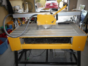 Used Wet Tile Cutter & accessories