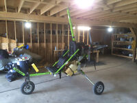 1998 Tukan Trike Ultralight Aircraft with Trailer