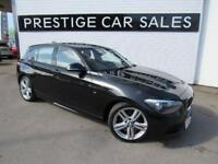 2015 BMW 1 Series 2.0 116d M Sport Sports Hatch (s/s) 5dr Diesel black Manual