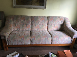 Teak Sofas (2) $150 each or best offer