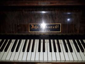 FREE TO COLLECT Spencer Upright Piano in working order.