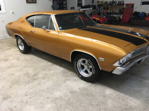 1968 chevelle 396 big block
