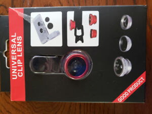 Universal photo lens for iPhone, HTC, Samsung.