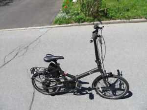 """E-MOTION EASYGO """"VOLT""""  FOLDING ELECTRIC BICYCLE"""