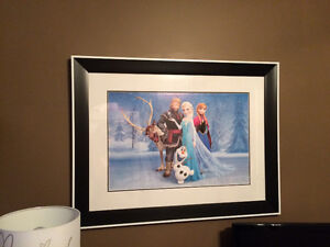 Disney's Frozen Professionally Framed Picture