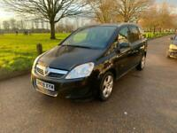 2009/09 Vauxhall/Opel Zafira 1.6i 16v Breeze 7 SEATS LOW MILEAGE LONG MOT