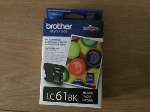 Black ink cartridge - LC61 for Brother printer.