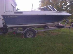 1986 four winn boat and trailer