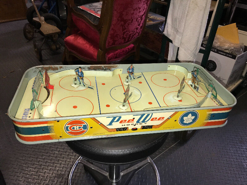 Eagle Hockey game Red Post Net 1950/'s 1960 gameTable Top hockey games