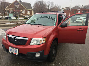 2011 MAZDA TRIBUTE, 4WD, V-6, WINTER & SUMMER TIRES