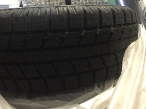 15in Snow tires and rims in excellent condition