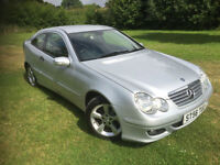 Mercedes-Benz C220 2.1TD auto 2006 56 CDI SE FULL MAIN DEALER HISTORY HPI CLEAR