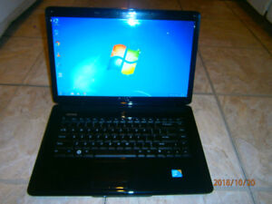 DELL INSPIRON 1545 LAPTOP-4 GB RAM-2.20 GHZ-250 GB HARD DRIVE...