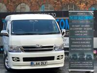 2009 Toyota Hiace 2.7 10 SEATER MINI BUS Auto MINIBUS Petrol Automatic