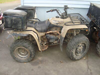 PARTING OUT SOME YAMAHAS 2WD AND 4 WD