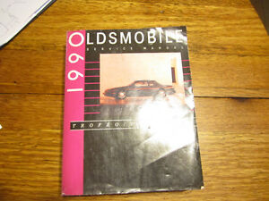 1990 Oldsmobile Trofeo (Toronado line ) full service manual used