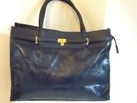 Large navy blue bag New