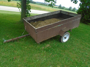 "4 X 6 Utility Trailer New 12"" tires new wiring and lights"