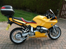 Yellow BMW R1100S in fantastic condition, used for sale  Stocksbridge, South Yorkshire