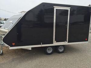 "2016 SNO PRO HYBIRD 101"" X 12' ENCLOSED TRAILER"