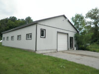 2000 square foot steel building for storage / shop