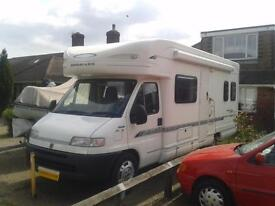 Bessacarr E765, Sleeps 6, Rear Fixed Bed, Over-cab Bed, 2800cc, 2000,