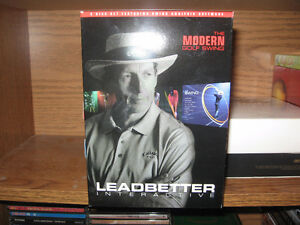 Golf David Leadbetter- Modern Golf Swing Interactive 5 Disc