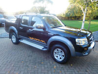 2008 Ford Ranger 3.0TDCi ( 156PS ) 4x4 Wildtrak Double Cab 57000 Miles !!