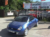 2003 FORD KA STREETKA LUXURY CONVERTIBLE 1.6L IN GREAT CONDITION