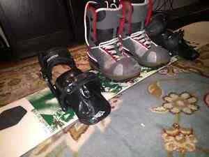 Board boots and bindings