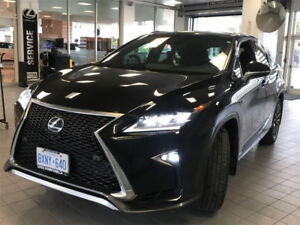 2017 Lexus RX 350 F-Sport (LEASE TAKE-OVER)