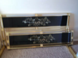 BRASS KING SIZE ASIAN BED London Ontario image 1