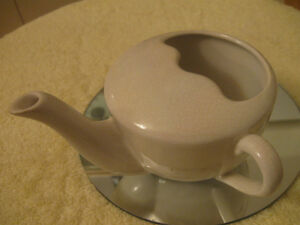 ENGLISH-MADE VINTAGE INVALID CUP for ADMINISTERING NOURISHMENT