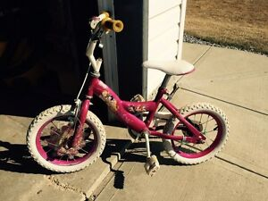 Girls princess bike