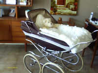 English Baby Pram/Carriage.