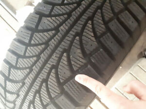 WINTER TIRES 265 / 70 R16