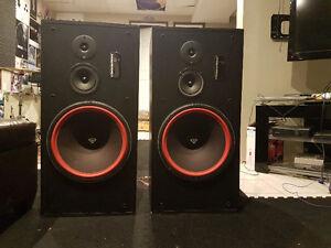 Cerwin Vega LS-15's. Large Pair of speakers