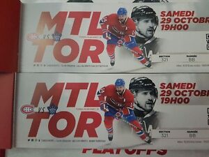 Montreal Canadiens Vs Toronto Maple Leafs Oct 29th