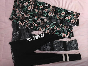 Three cute leggings for only $10