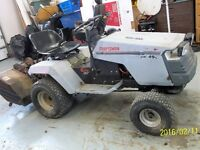 CRAFTSMAN LAWN TRACTOR AND TILLER