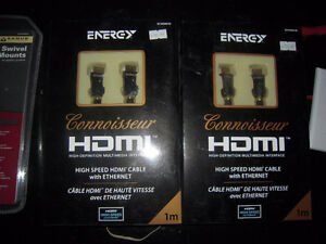 ENERGY HDMI CABLE WITH ETHERNET Strathcona County Edmonton Area image 1