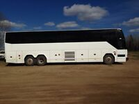 Bus Charter's available!