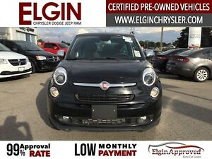 2015 FIAT 500L Lounge***Leather,Pano,Navi,B-up Cam*** London Ontario image 2
