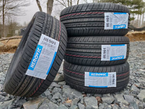 New 235/55R17 all-season tires, $440 for 4, tax in